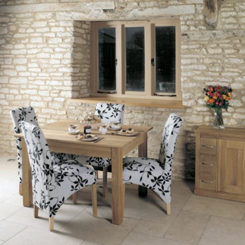 Mobel Oak Dining Table (4 Seater)