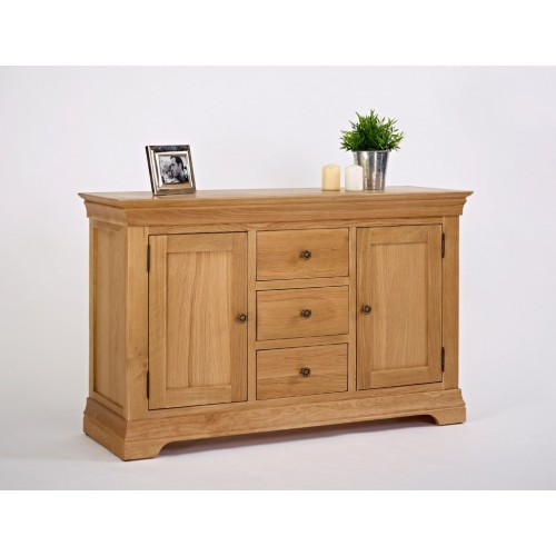 "Normandy Oak 4'6"" Dresser Base"