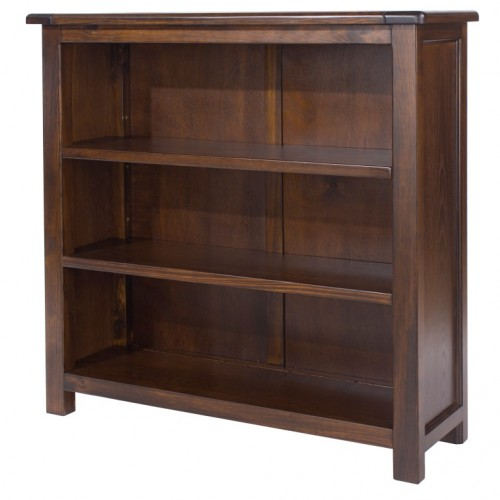 low bookcase boston handcrafted dark