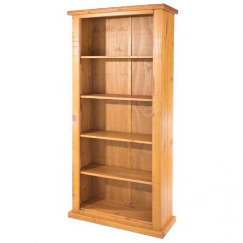 tall bookcase farmhouse pine rough
