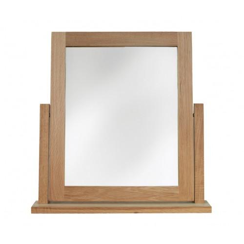 Sherwood Oak Dressing Table Swivel Mirror