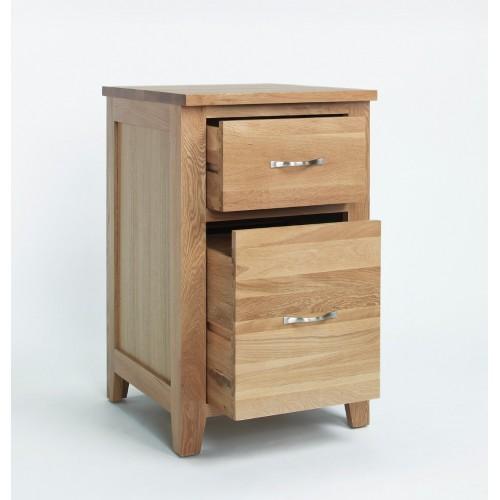 Sherwood Oak Filing Cabinet 2 Drawer