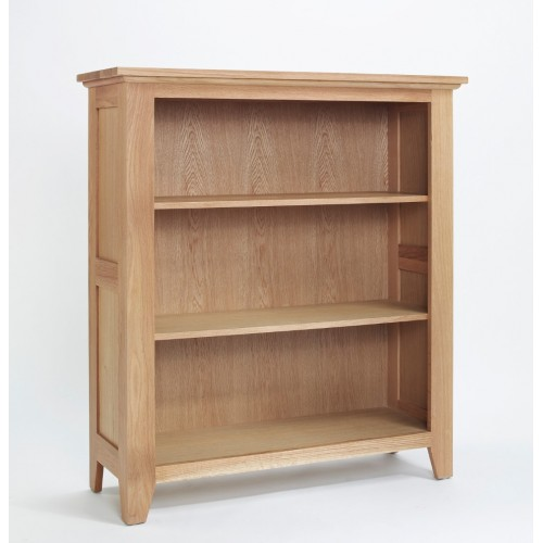 Sherwood Oak Low Bookcase