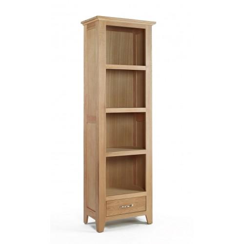 Sherwood Oak Small 1 Drawer Bookcase