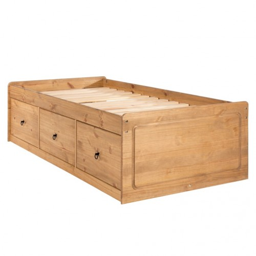 cabin bed cotswold waxed pine