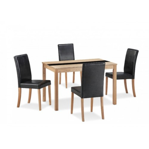 ASHLEIGH DINING SET (4 CHAIRS)