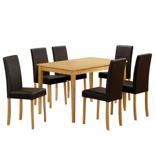 ATLANTA DINING SET (6 CHAIRS)