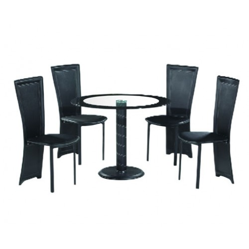 LENORA DINING SET (4 SEATER)