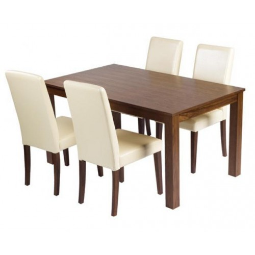 MALVERN DINING SET (4 SEATER)