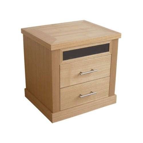 MAYFAIR 2 DRAWER BEDSIDE