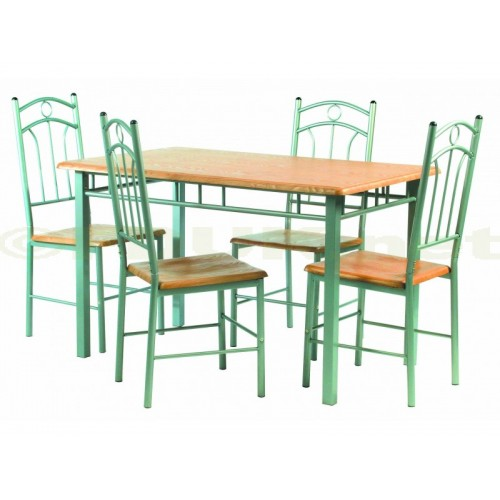 PALOMA DINING SET (4 SEATER)