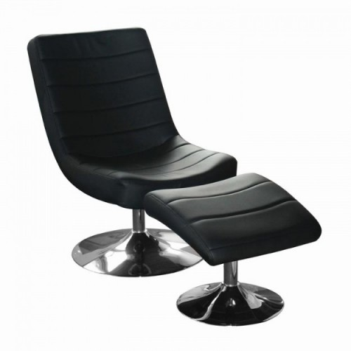 VEGAS EASY CHAIR WITH STOOL